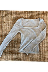 LeBLANC finds Ribbed Square Ribbed L/S
