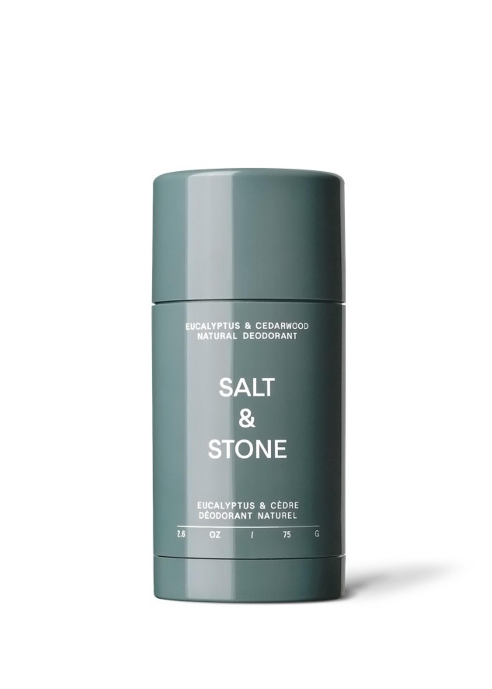 SALT & STONE Eucalyptus & Cedarwood Natural Deodorant