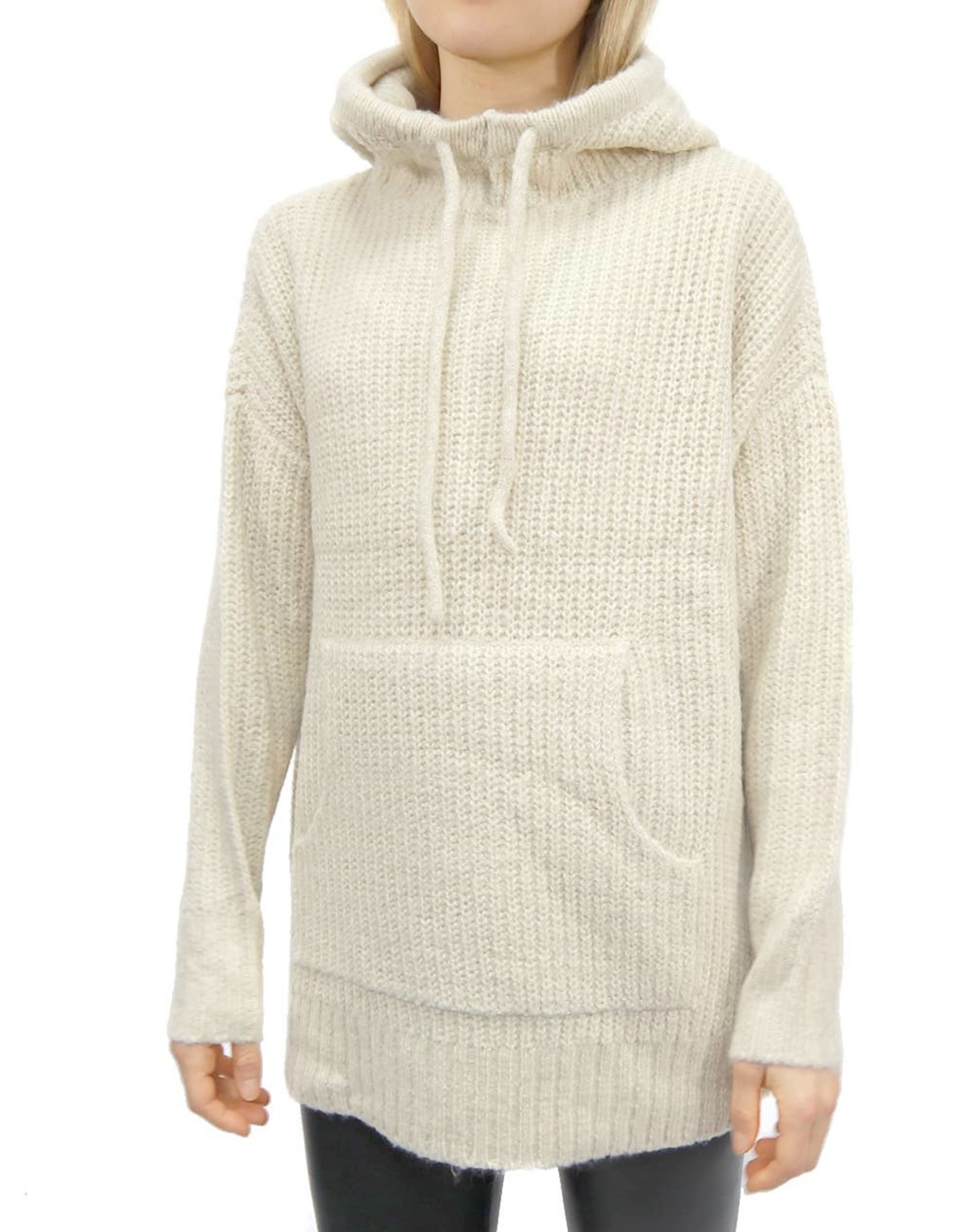 RD STYLE Oversized Knit Hoodie