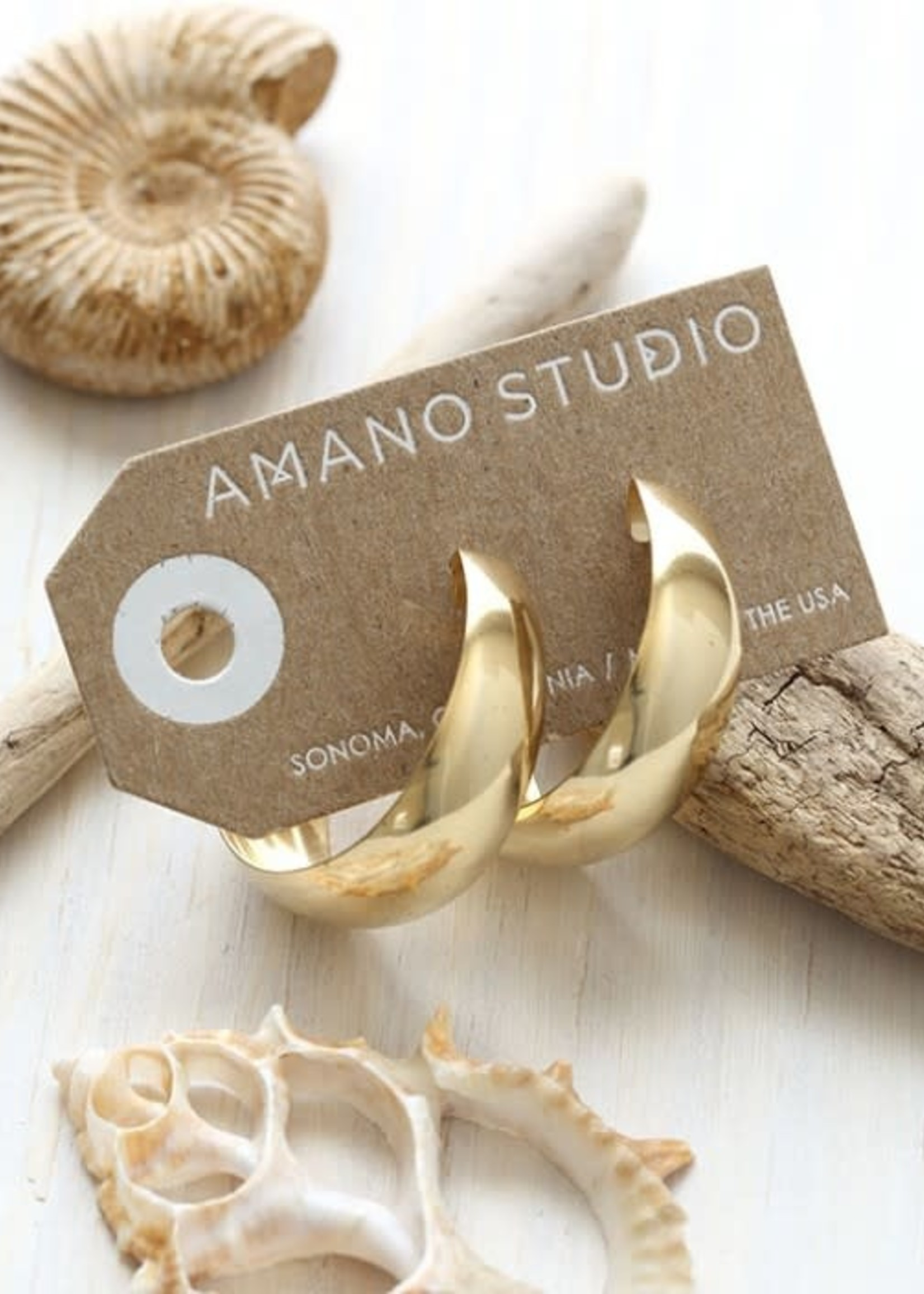 AMANO studio Genuine 70's Vintage Hoops