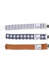 COPPER PEARL Binky Clips 3-pack SCOTLAND