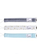 COPPER PEARL Binky Clips 3-pack CHIP