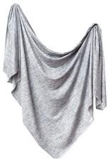 COPPER PEARL Knit Swaddle Blanket