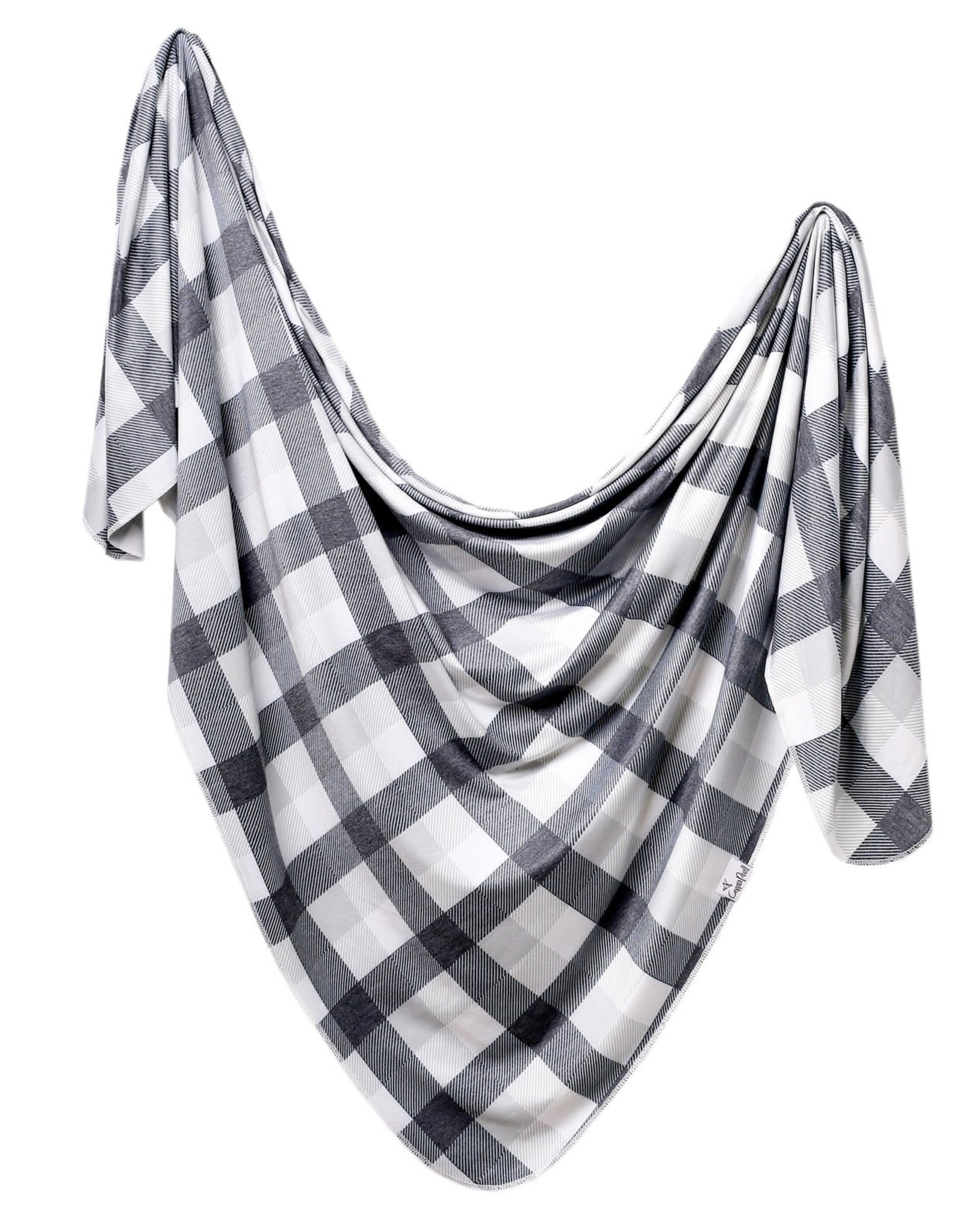 COPPER PEARL Knit Swaddle Blanket HUDSON