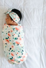 COPPER PEARL Knit Swaddle Blanket LEILANI