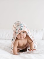 COPPER PEARL Premium Knit Hooded Towel AUTUMN