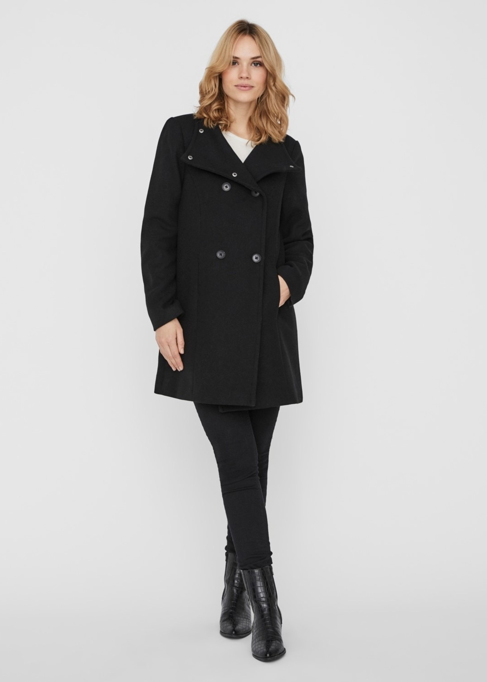 VERA MODA The Julia Peacoat