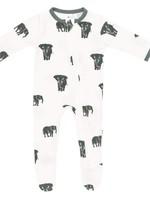 KYTE BABY Printed Zippered Footie