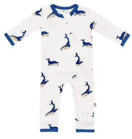 KYTE BABY Printed Zippered Romper