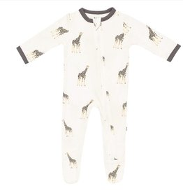 KYTE BABY Printed Zippered Footie