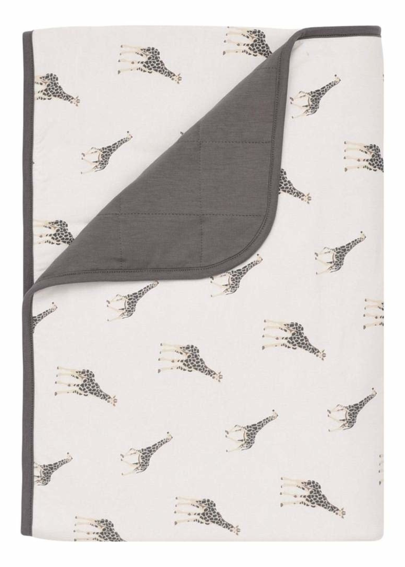 KYTE BABY Printed Toddler Blanket in Giraffe