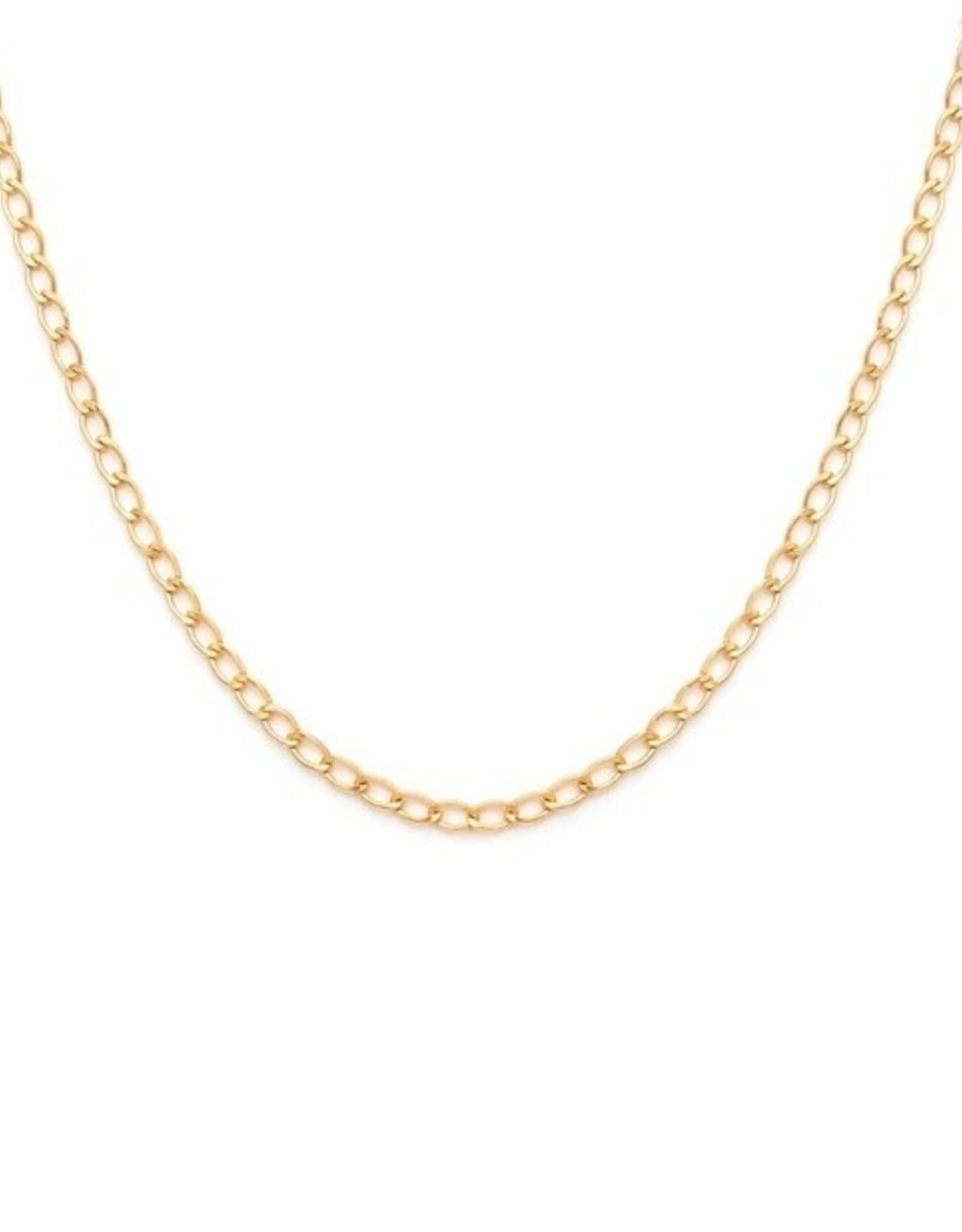 LEAH ALEXANDRA Alba Necklace 14K Gold Fill