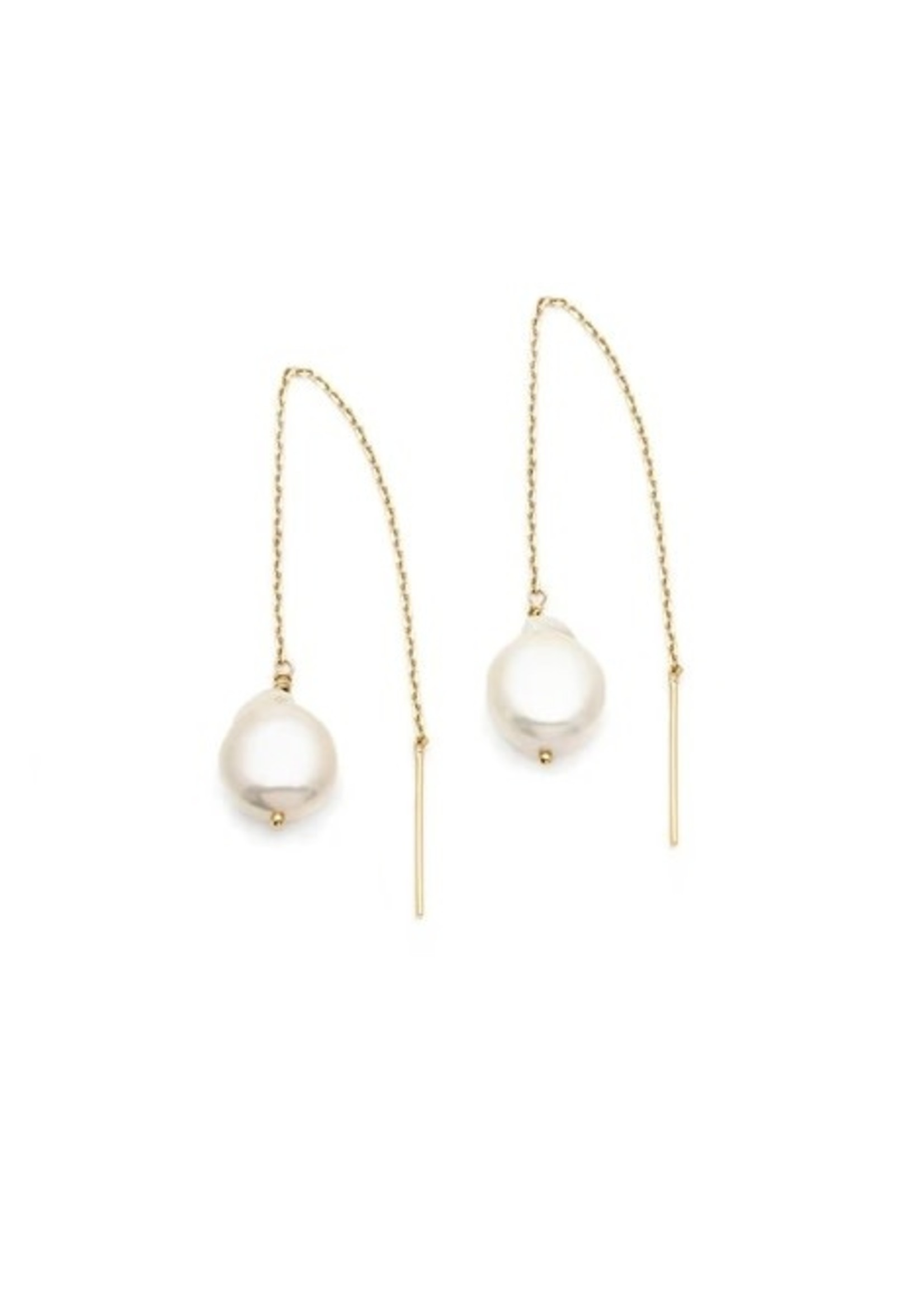 LEAH ALEXANDRA Threaders with Pearls