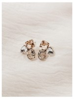 OLIVE + PIPPER Helena Studs, 14K Gold Plated
