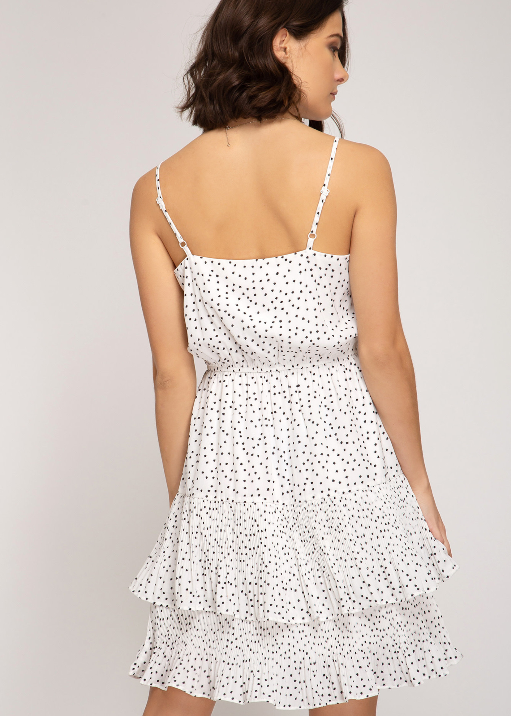 LeBLANC finds DOT cocktail dress