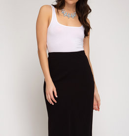 LeBLANC finds BIAS Cut Midi Skirt