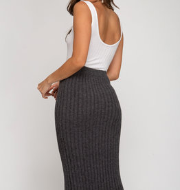 LeBLANC finds RIB KNIT Pencil Skirt
