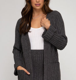 LeBLANC finds RIB KNIT Cardigan