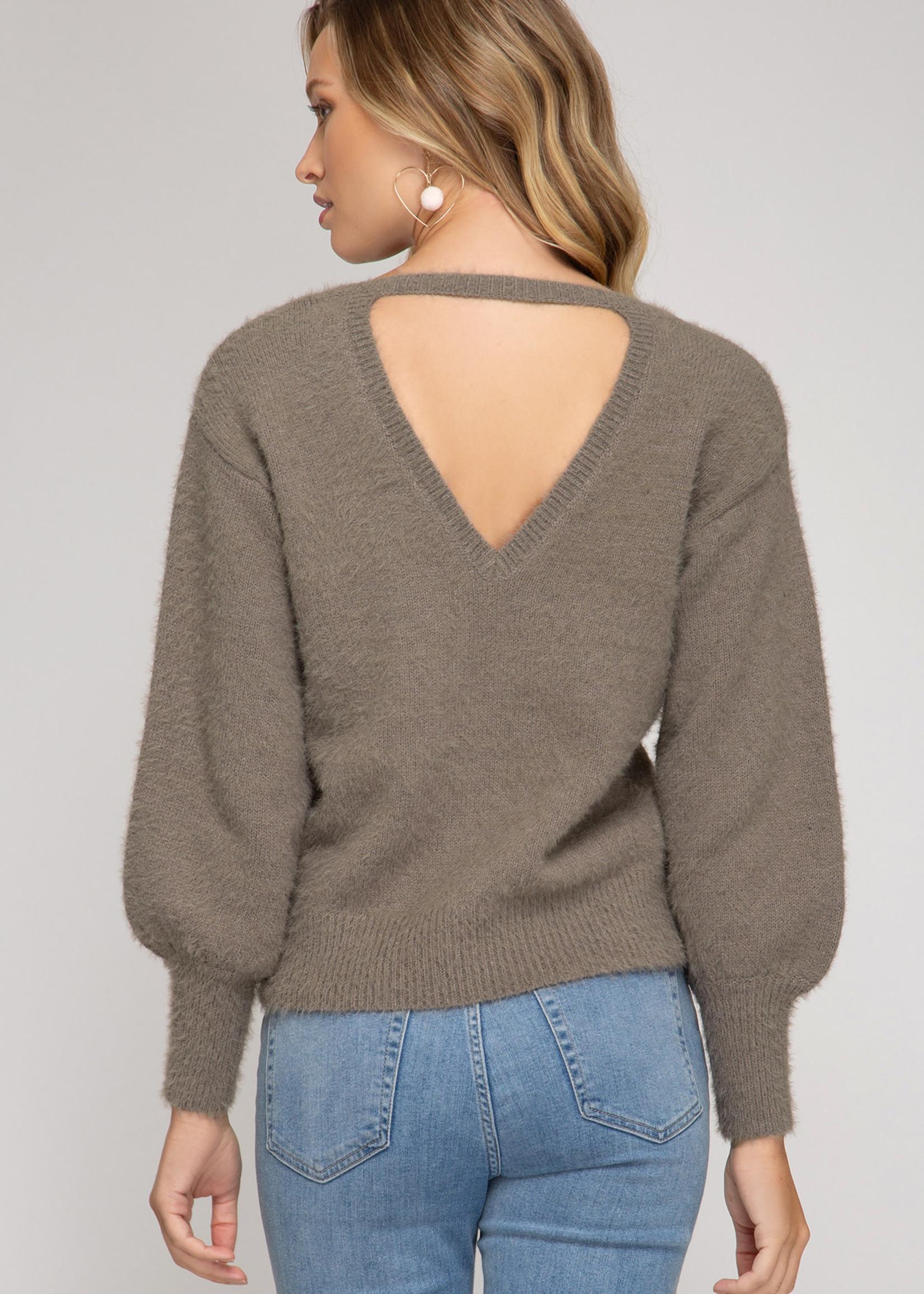 LeBLANC finds ZOE Cutout Sweater