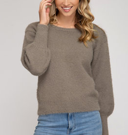 LeBLANC finds ZOE Cutout Sweater