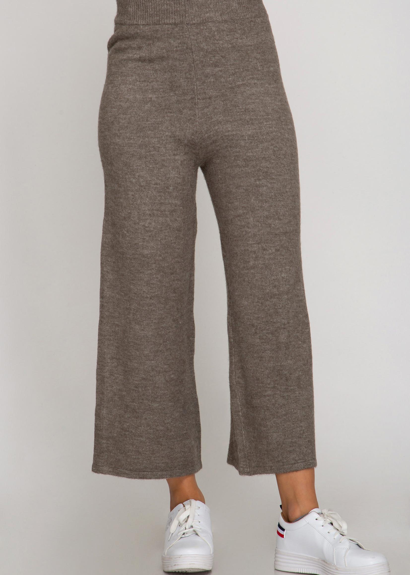 LeBLANC finds CROP wide leg sweater pant