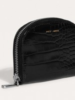 PIXIE MOOD Ida Card Case BLACK CROC