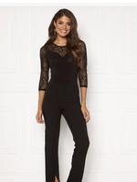 VERA MODA Sweetheart Lace 3/4 Sleeve Bodysuit