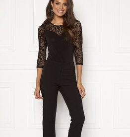 VERA MODA Sweetheart Lace 3/4 Sleeve Bodysuit