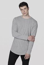 JACK & JONES Jornoa Curved Bottom LS