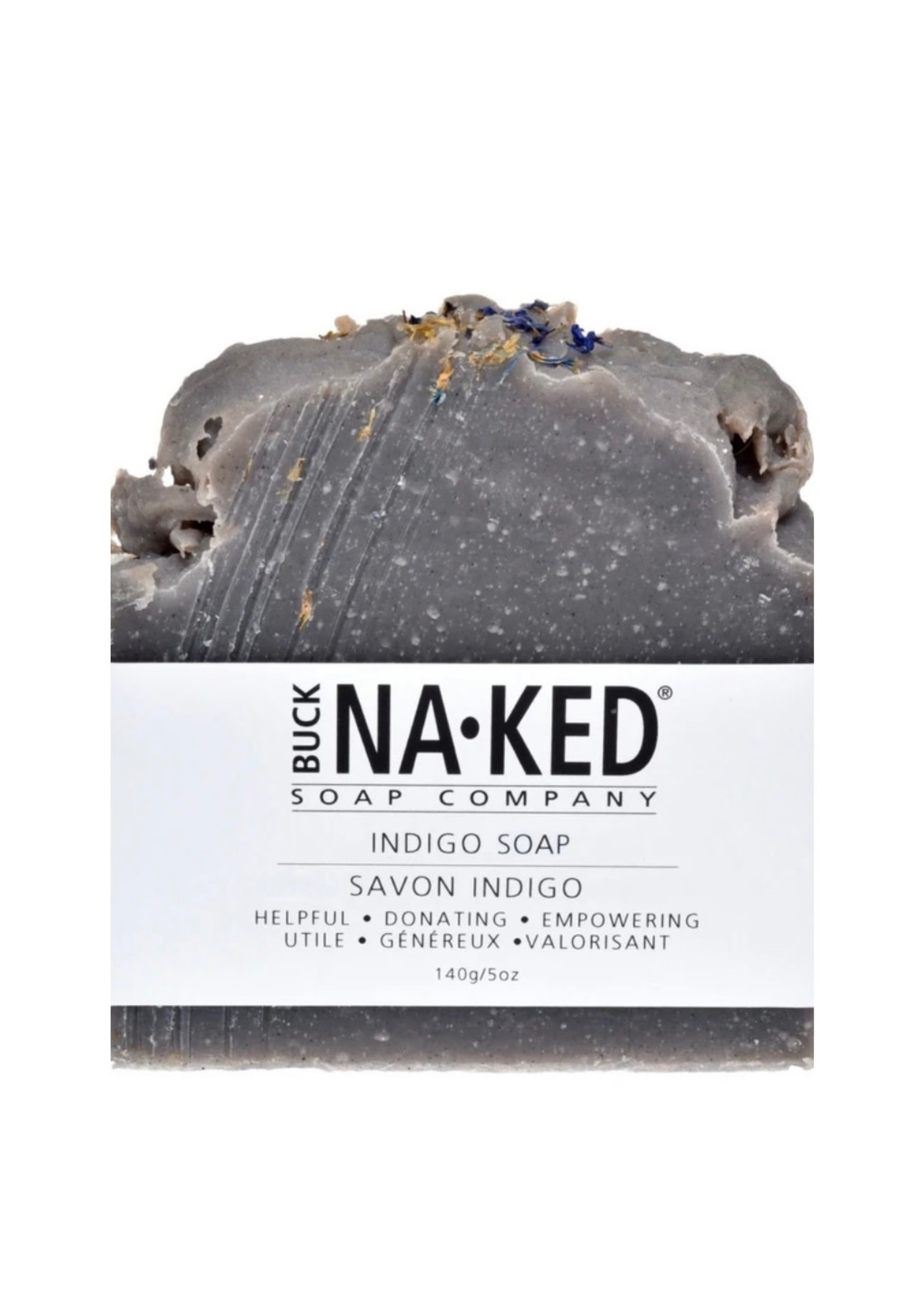 BUCK NAKED Indigo SOAP