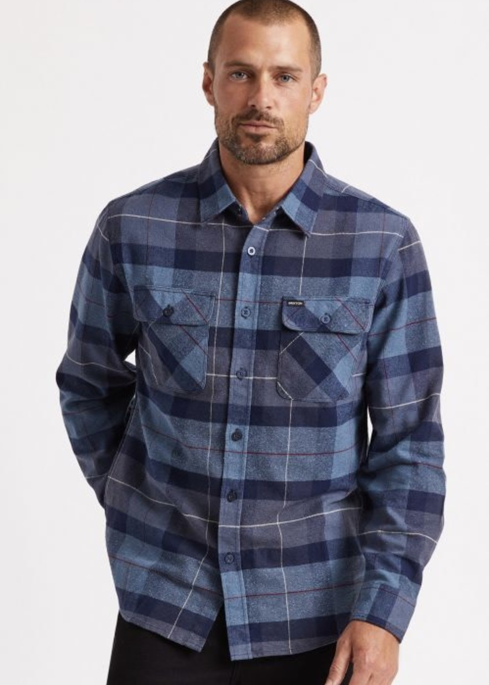 BRIXTON Bowery Flannel L/S