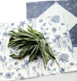 GOLDILOCKS wraps Vintage Botany Food Wrap, Set of 3