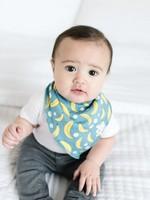 COPPER PEARL 4-pack Baby Bandana Bibs CITRUS