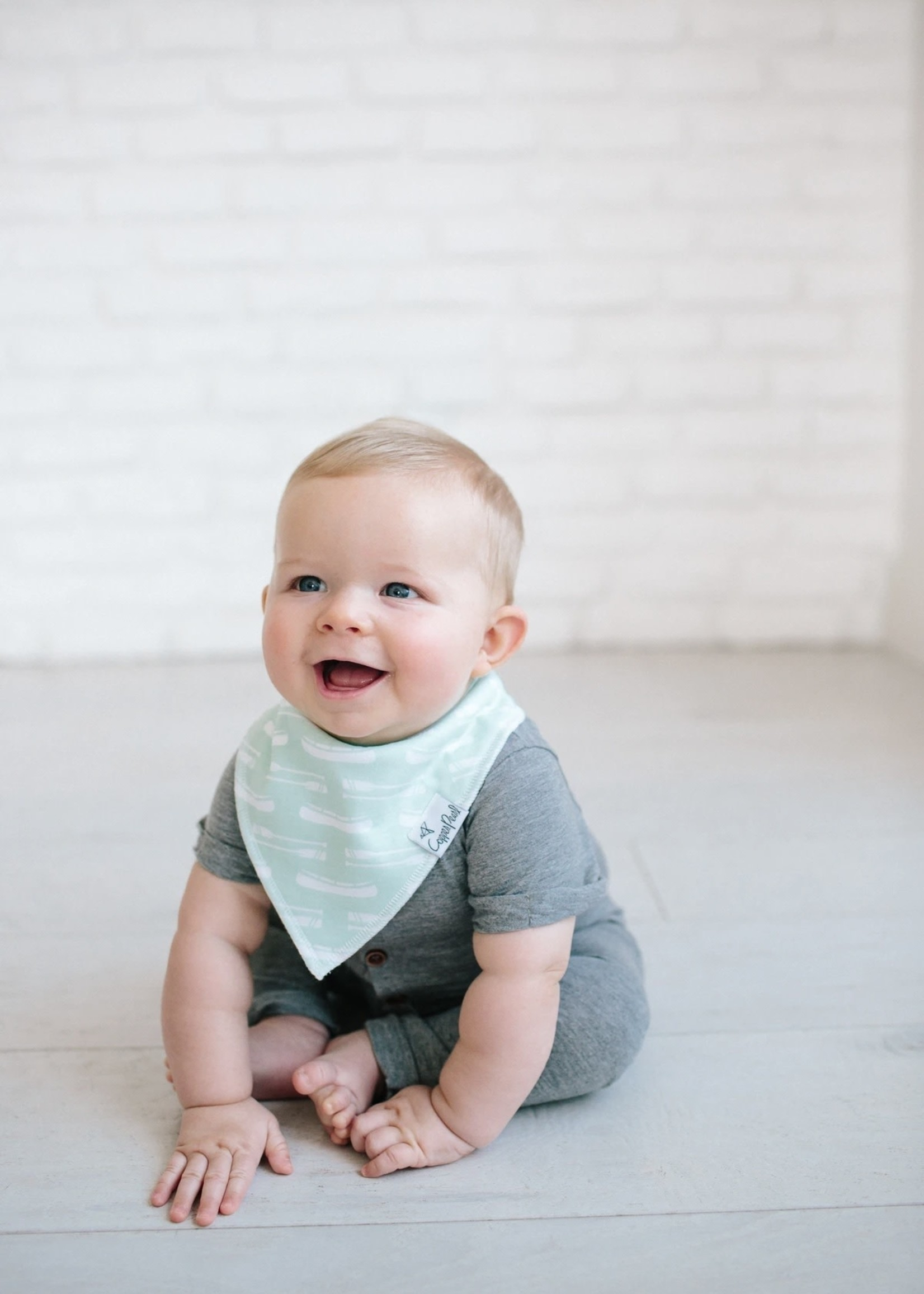 COPPER PEARL 4-pack Baby Bandana Bibs - SCOUT