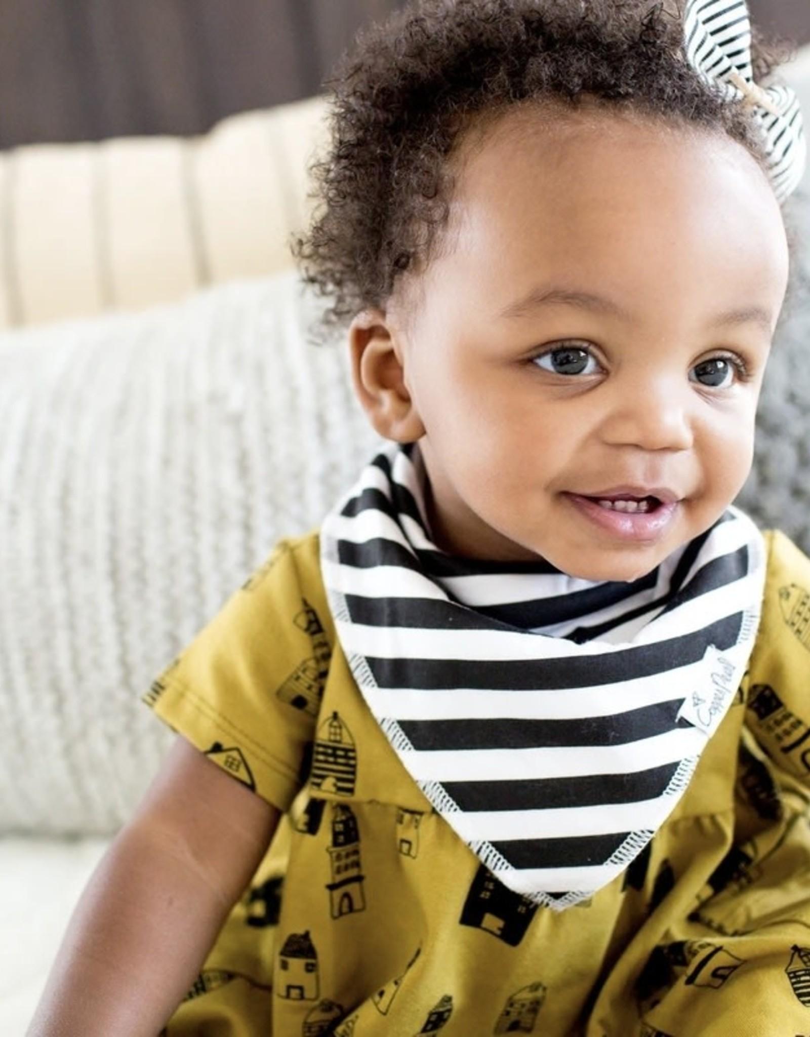 COPPER PEARL 4-pack Baby Bandana Bibs - SHADE