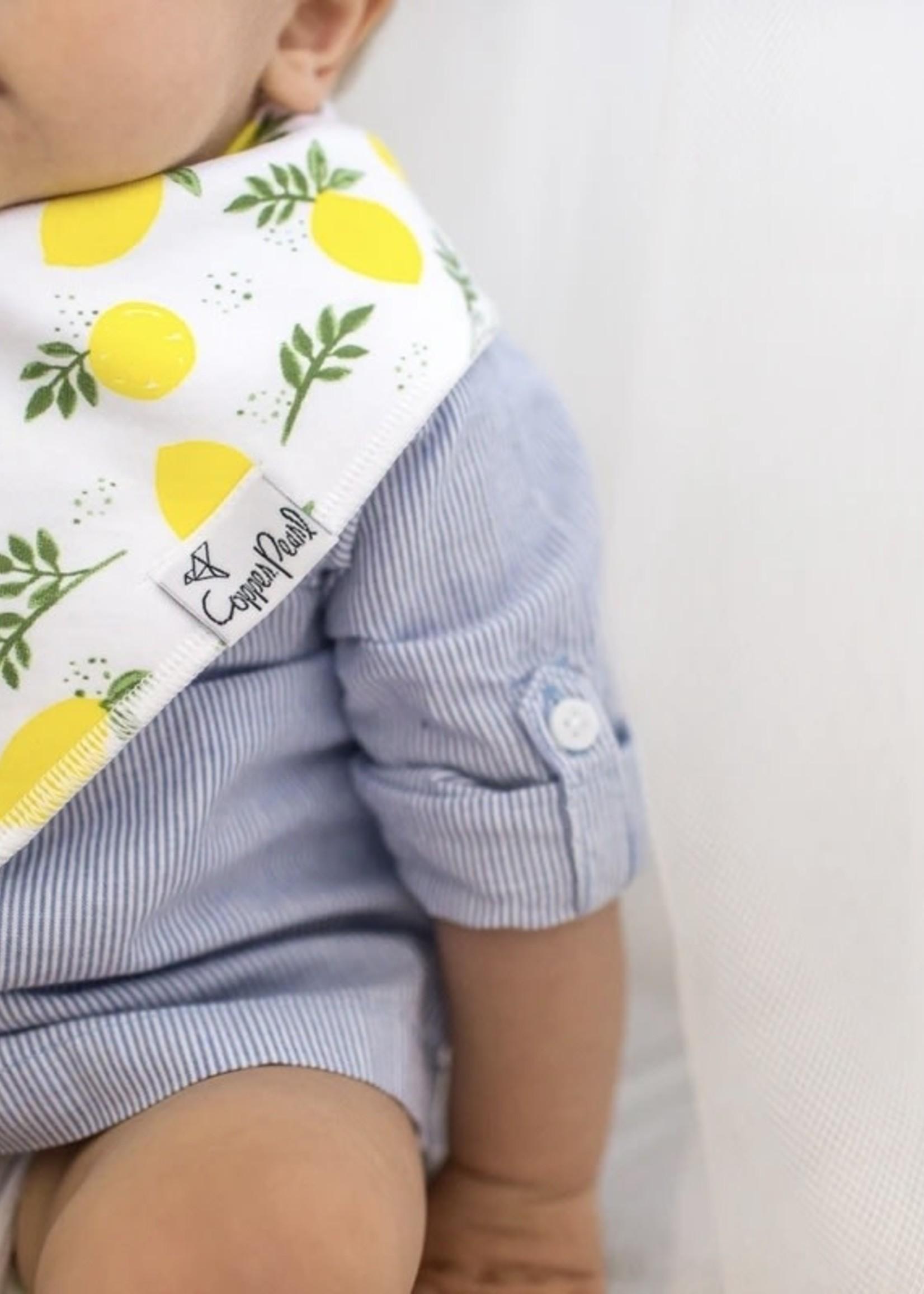COPPER PEARL 4-pack Baby Bandana Bibs - GEORGIA