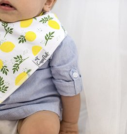 COPPER PEARL 4-pack Baby Bandana Bibs - GEORGIA