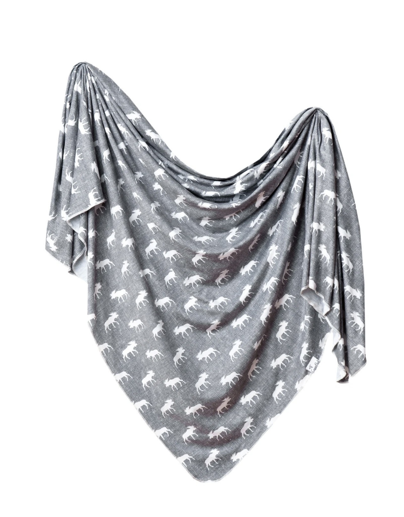 COPPER PEARL Knit Swaddle Blanket SCOUT