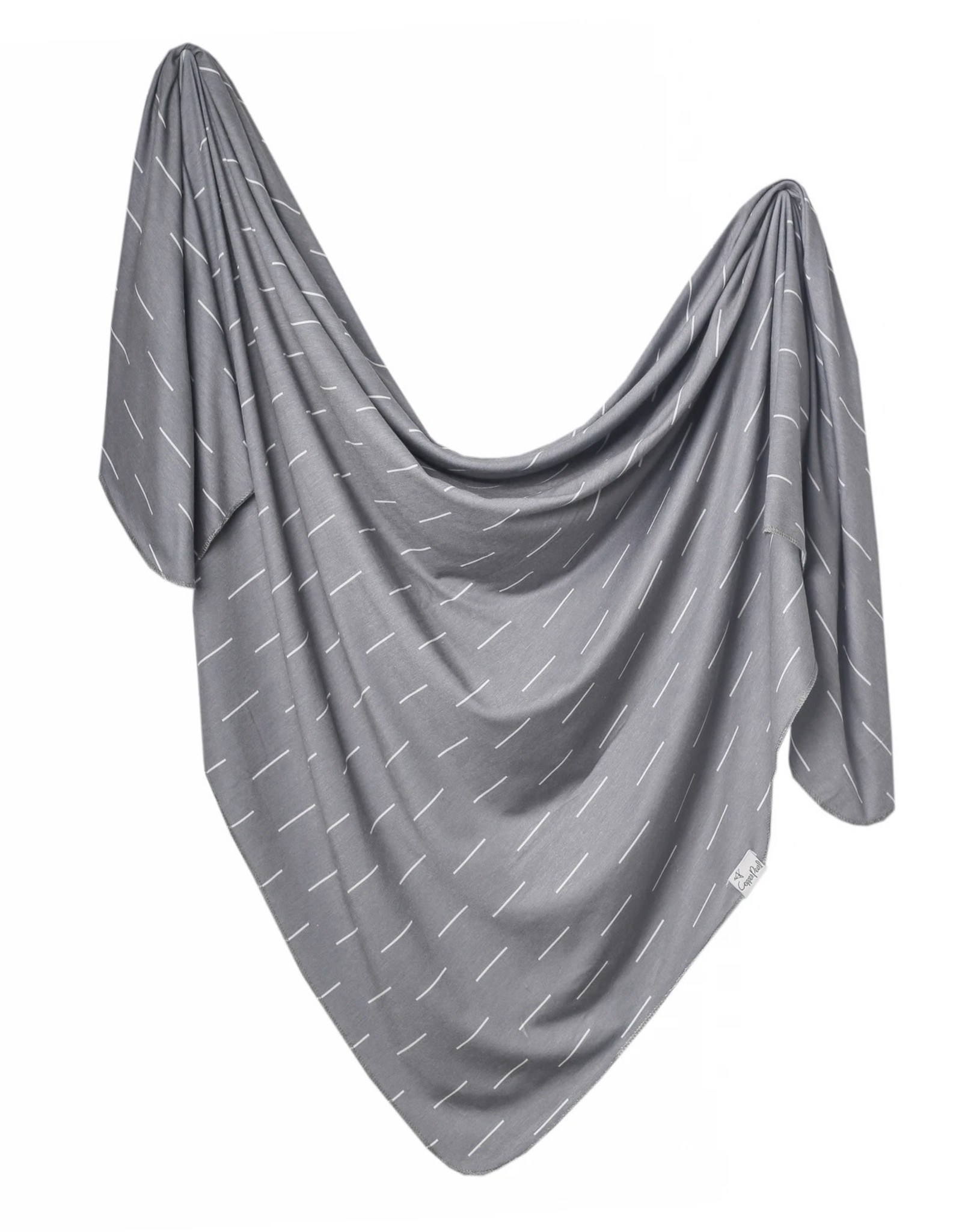 COPPER PEARL Knit Swaddle Blanket DASH