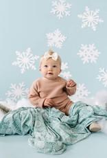 COPPER PEARL Knit Swaddle Blanket JANE