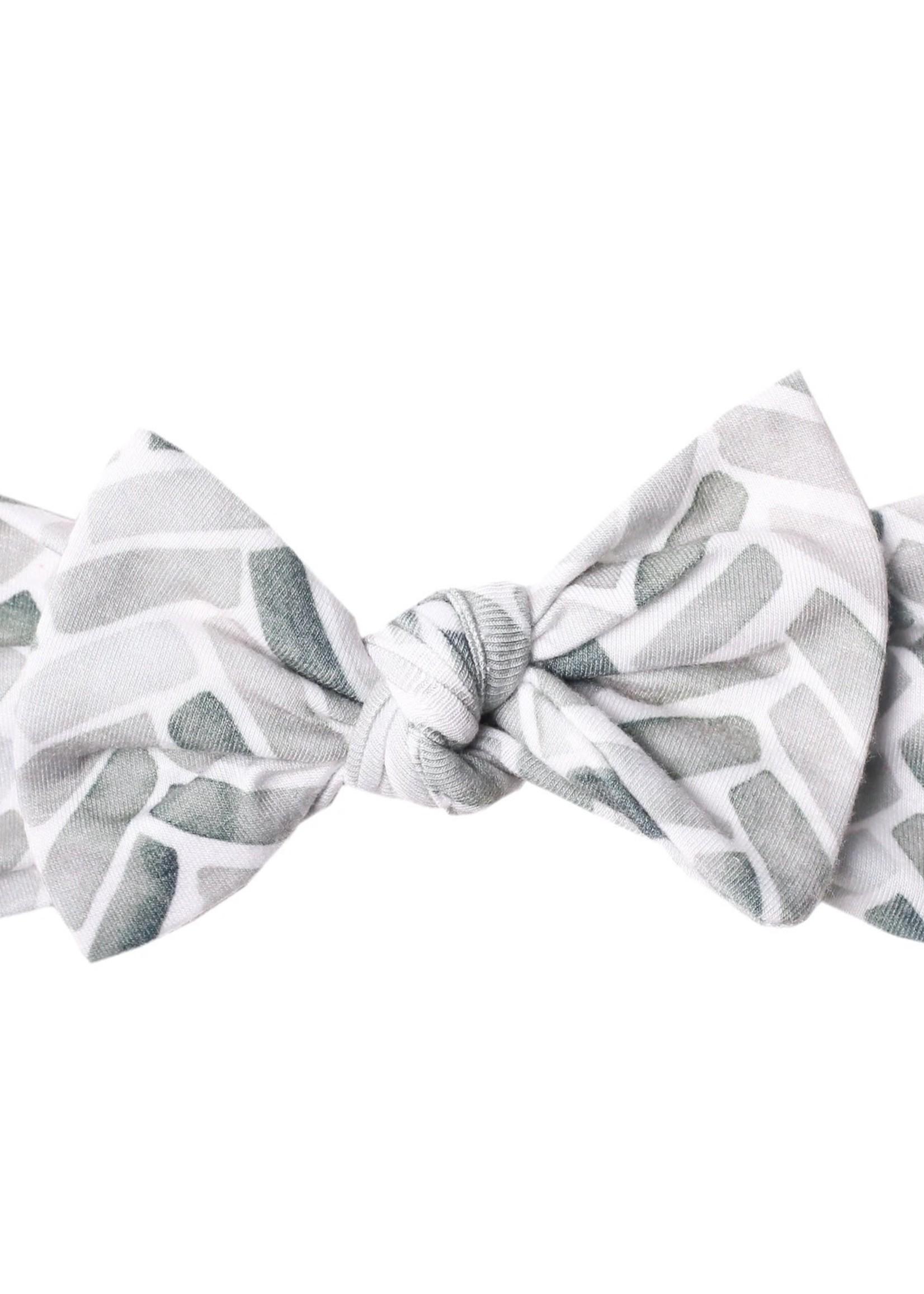 COPPER PEARL Knit Headband Bow ALTA