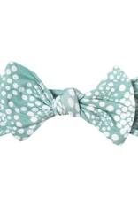 COPPER PEARL Knit Headband Bow JANE