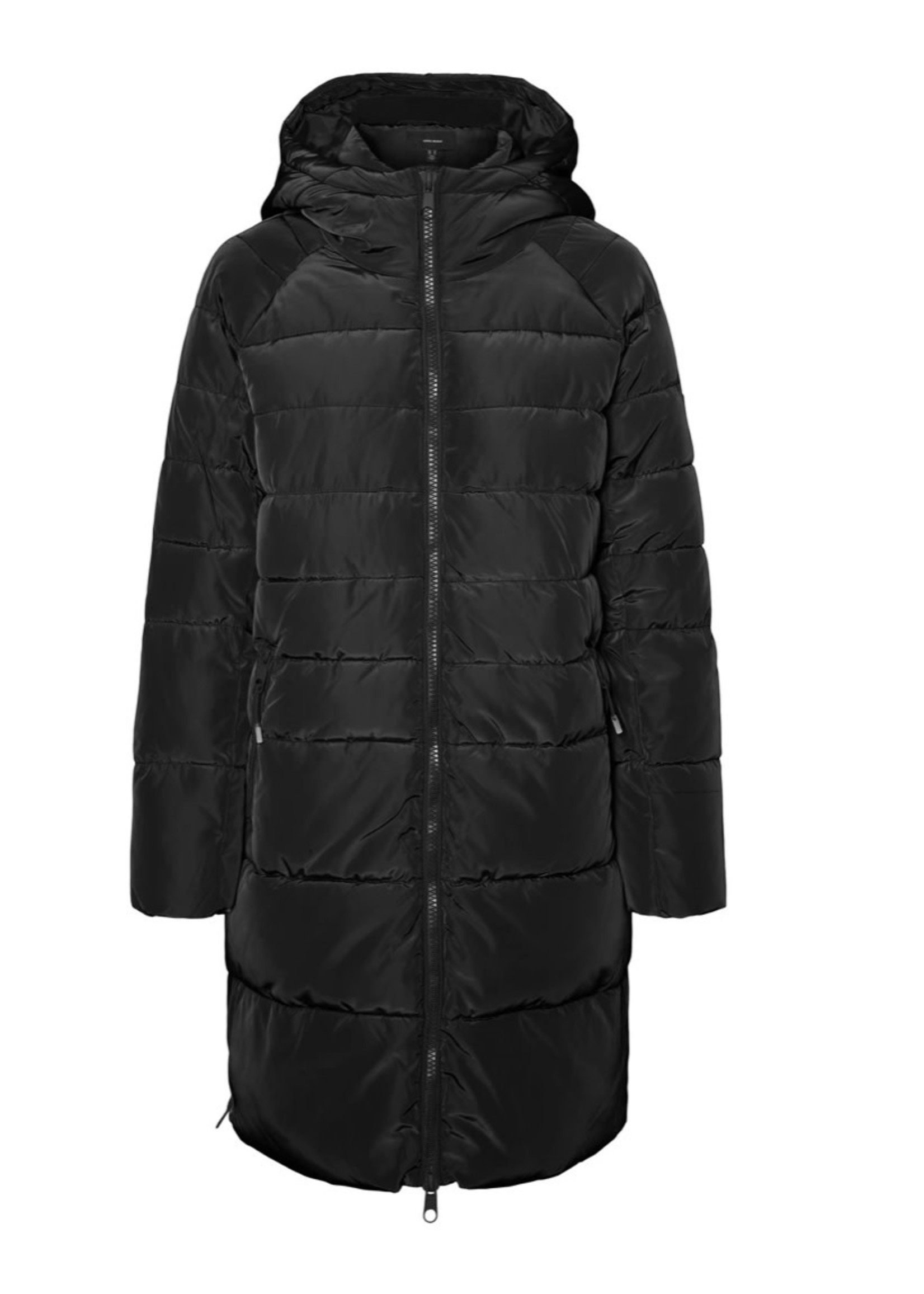 VERA MODA Bergen Long Puffer Hooded Jacket