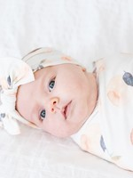 COPPER PEARL Baby Knit Headband Bow CAROLINE