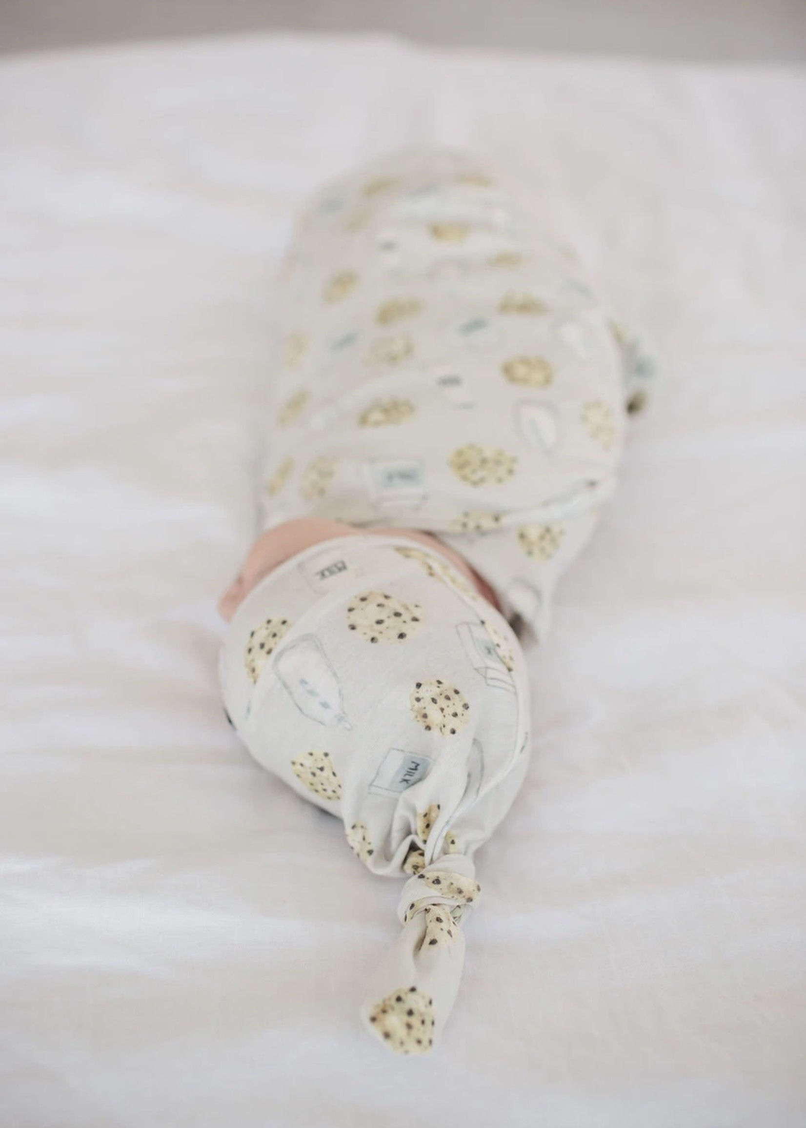 COPPER PEARL Baby Top Knot Hat CHIP NEWBORN