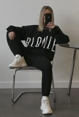 "BRUNETTE  the label The ""BLONDE"" Big Sister Crew Neck Sweatshirt"