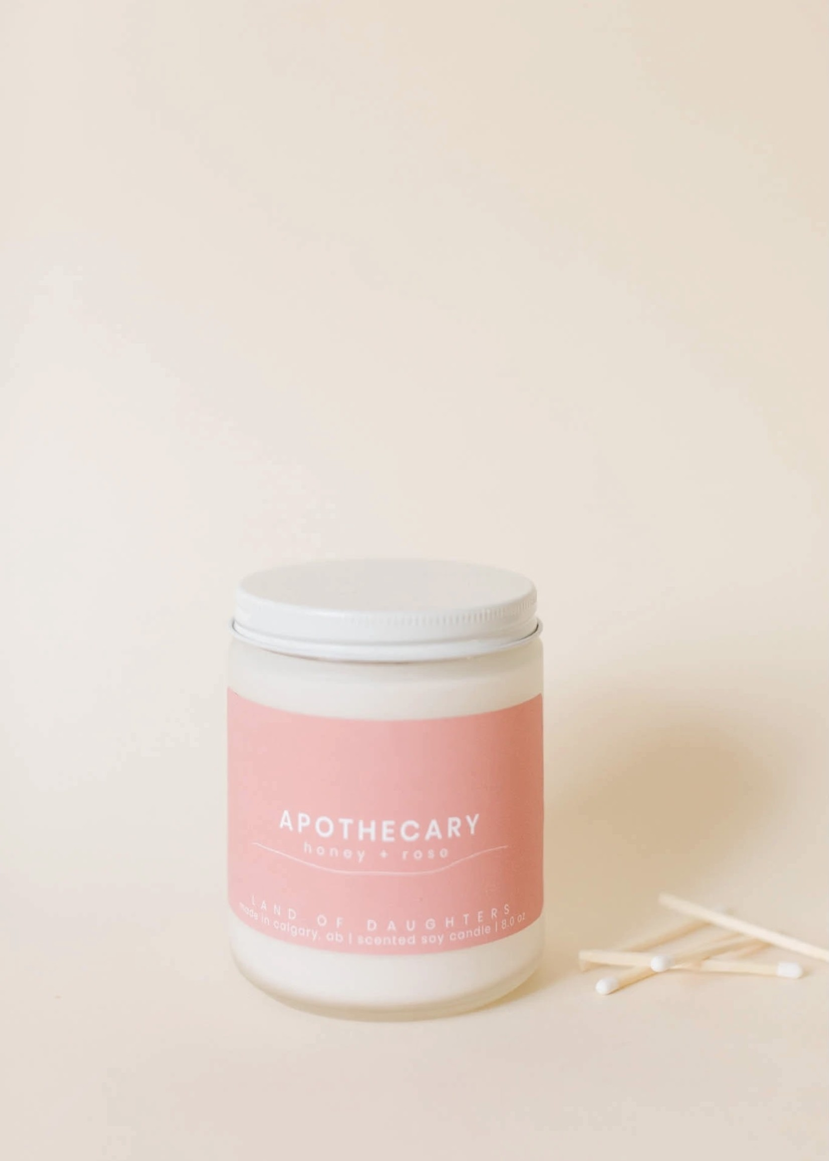LAND of DAUGHTERS Apothecary CANDLE