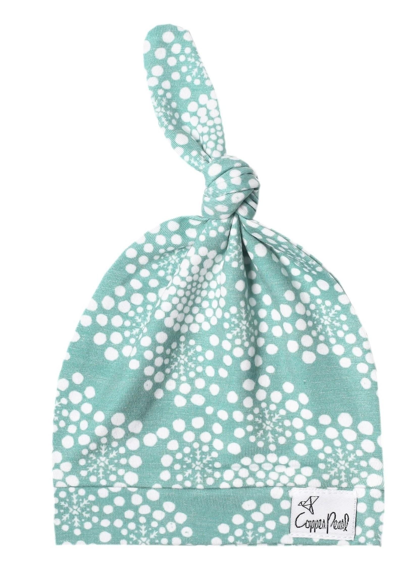 COPPER PEARL Top Knot Hat JANE NEWBORN