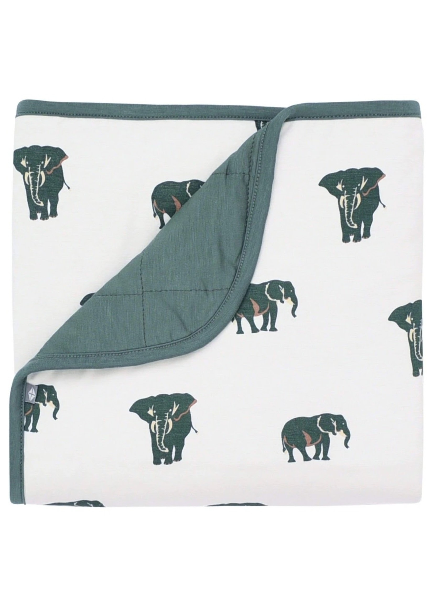 KYTE BABY Printing Baby Blanket ELEPHANT