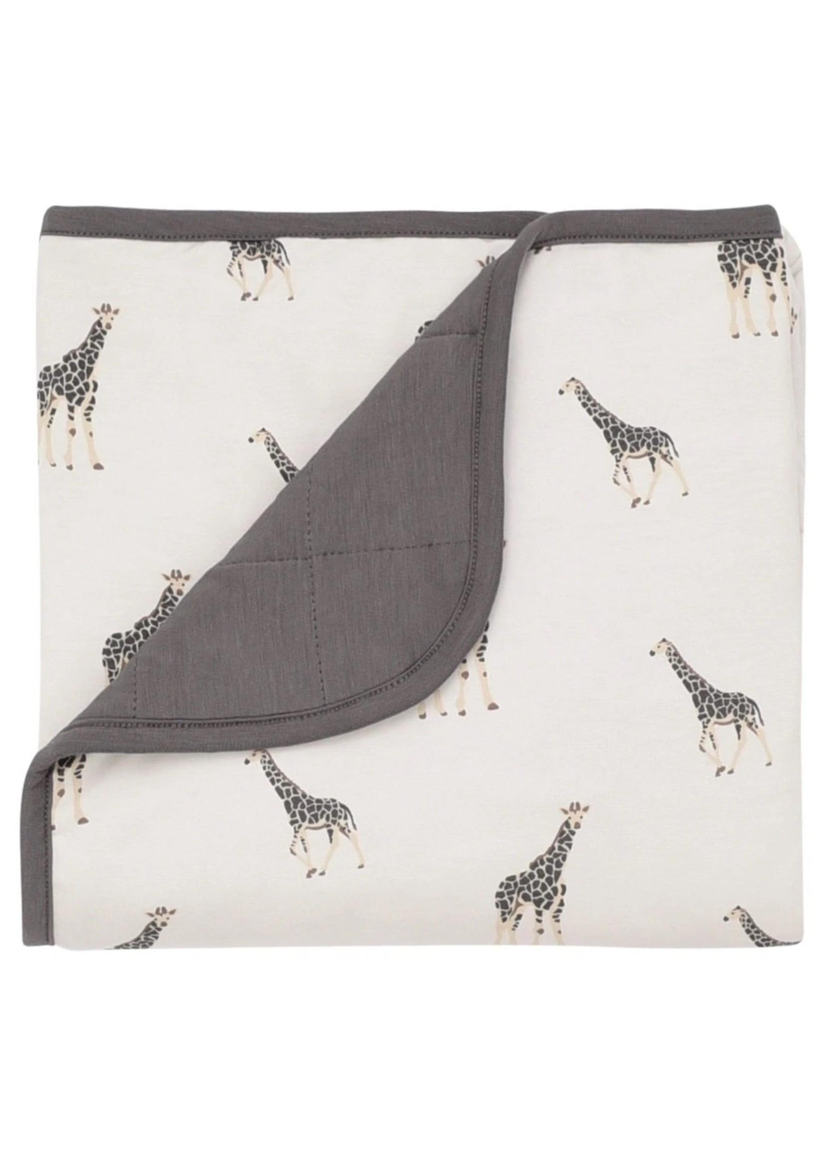 KYTE BABY Printed Baby Blanket GIRAFFE